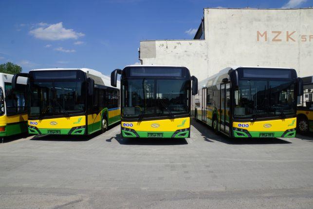Nowe autobusy już w zajezdni MZK Bełchatów. Kiedy wyruszą w trasę? - Zdjęcie główne