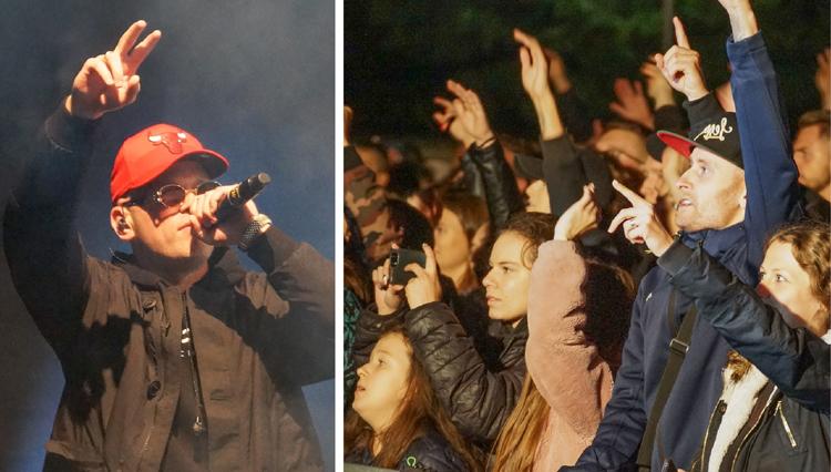 Tłumy bełchatowian na koncercie Palucha. Trwa Festiwal Sztuki Jabłka [FOTO] - Zdjęcie główne