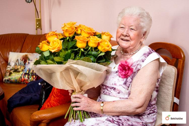Wyjątkowy jubileusz mieszkanki Bełchatowa. Każdy chciałby dożyć takiego wieku - Zdjęcie główne