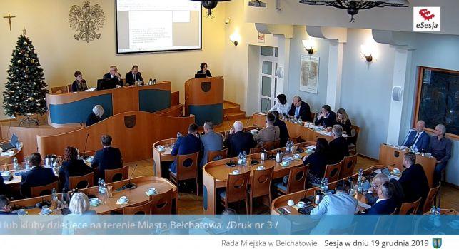 Trwa XVII Sesja Rady Miejskiej w Bełchatowie [TRANSMISJA NA ŻYWO] - Zdjęcie główne