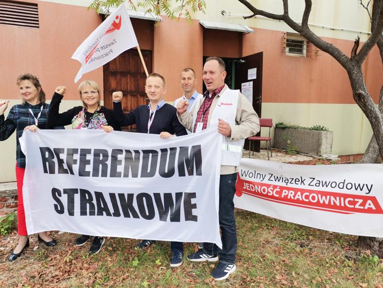 Wyniki referendum strajkowego w bełchatowskim szpitalu. Czy protest sparaliżuje placówkę? - Zdjęcie główne