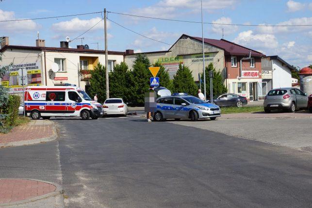 Groźny wypadek na Czaplinieckiej. Rower zmiażdżony kołami BMW [FOTO] - Zdjęcie główne