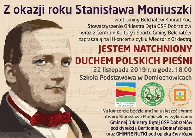 Gminna Orkiestra OSP uczci urodziny Stanisława Moniuszki - Zdjęcie główne