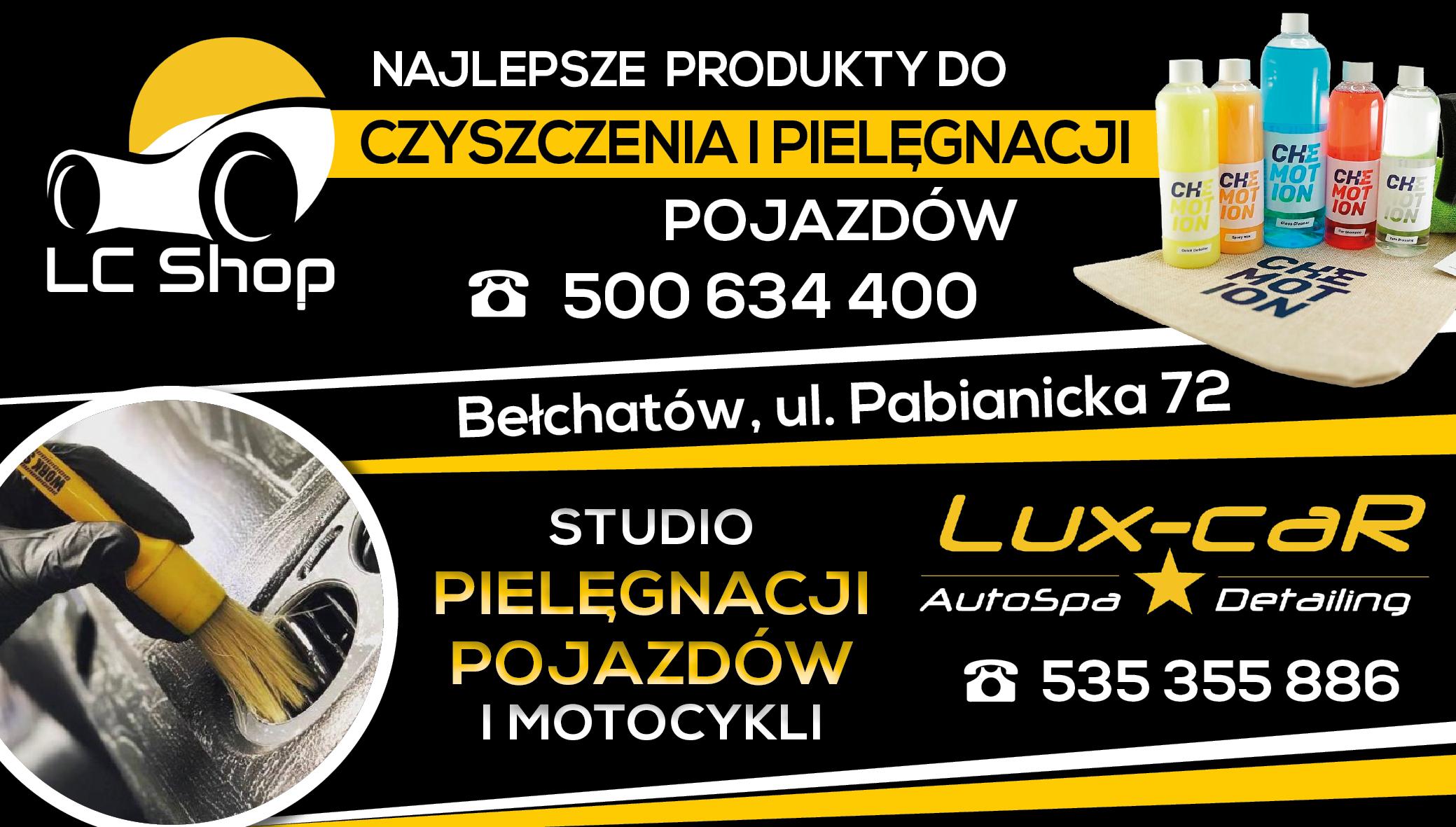 Auto Spa Lux Car oraz LC Shop Detailing - czyli sposób na samochód, jak z salonu! - Zdjęcie główne