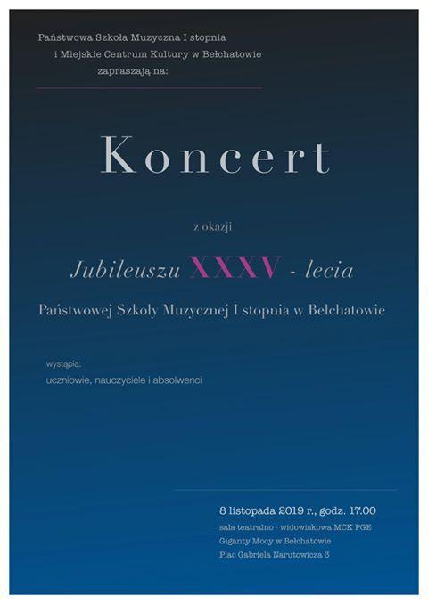 35-lecie Szkoły Muzycznej w Bełchatowie. Jubileuszowy koncert już jutro - Zdjęcie główne
