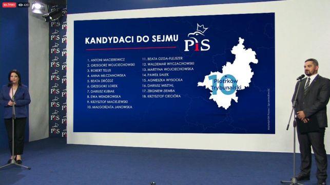 PiS prezentuje oficjalne listy wyborcze. Znamy wszystkich kandydatów z naszego okręgu - Zdjęcie główne
