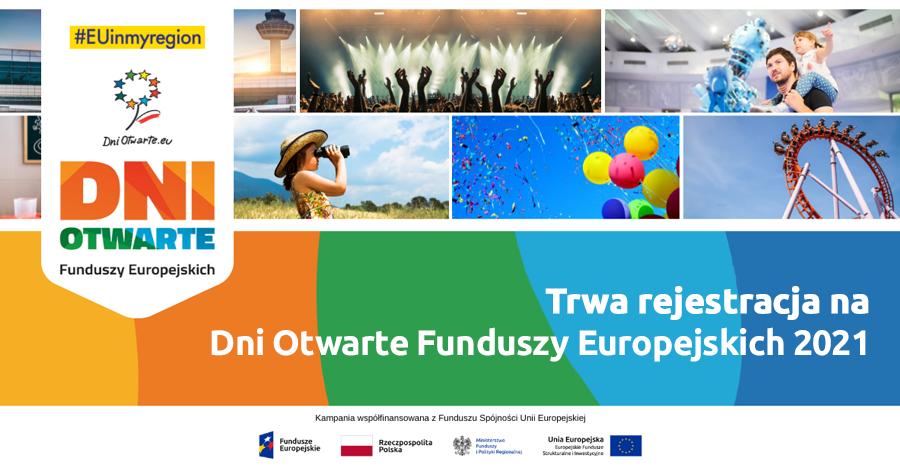 Trwa rejestracja na Dni Otwarte Funduszy Europejskich 2021 - Zdjęcie główne