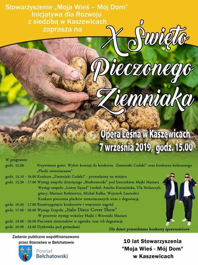 Ziemniaczane świętowanie w Kaszewicach - Zdjęcie główne