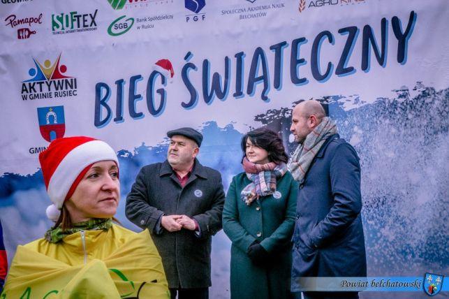Kilkuset biegaczy wystartowało w Ruścu dla chorego Patryka. Gościem specjalnym Rafał Patyra z TVP - Zdjęcie główne