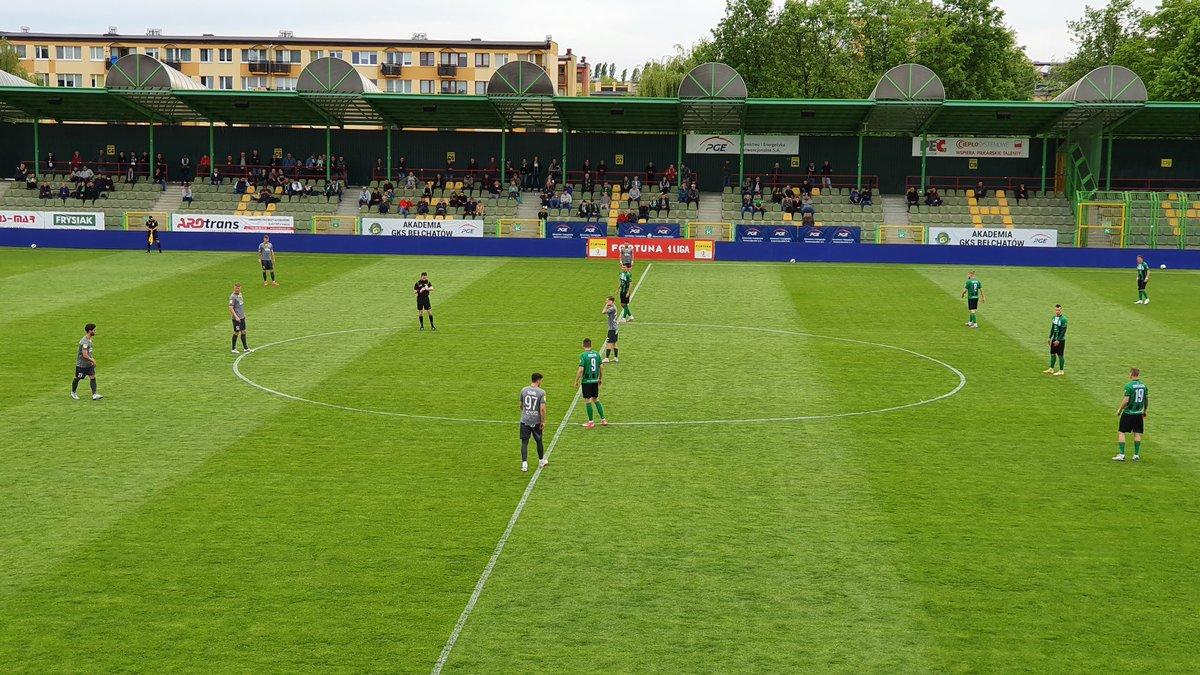 FORTUNA 1 Liga: Niewykorzystana szansa GKS-u w meczu z Radomiakiem - Zdjęcie główne