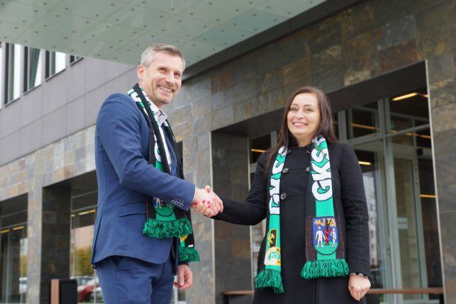"""GKS Bełchatów z """"nowym"""" sponsorem. Wideo z konferencji - Zdjęcie główne"""