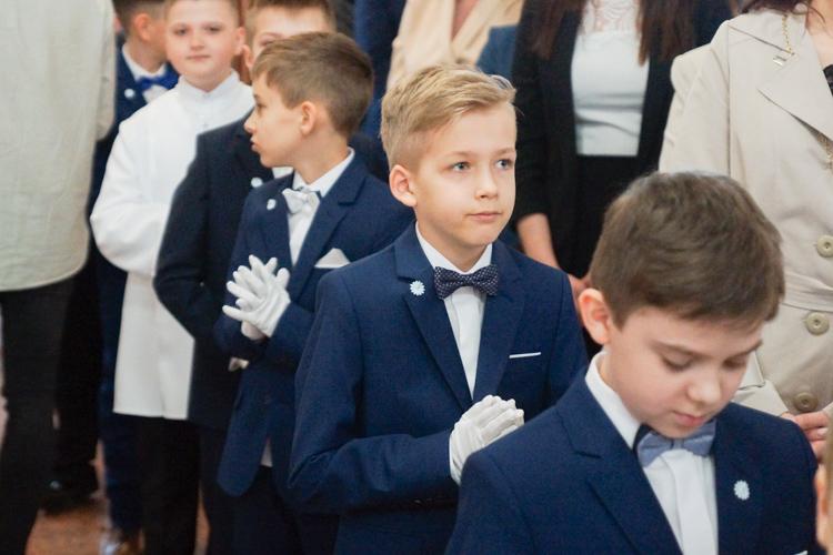 Pierwsze Komunie Święte w Bełchatowie. Uroczystości w parafii na os. Przytorze - Zdjęcie główne