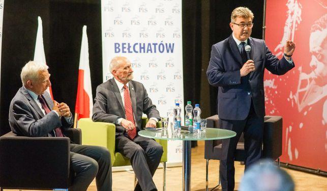 Spotkanie ministrów w Bełchatowie. Mówili kiedy ruszy Złoczew oraz o planach na energię jądrową [FOTO] - Zdjęcie główne