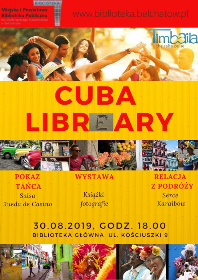 Cuba Libr(e)ary w bibliotece - Zdjęcie główne
