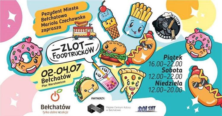 Food Trucki powracają do Bełchatowa! Pyszne jedzenie z różnych zakątków świata - Zdjęcie główne