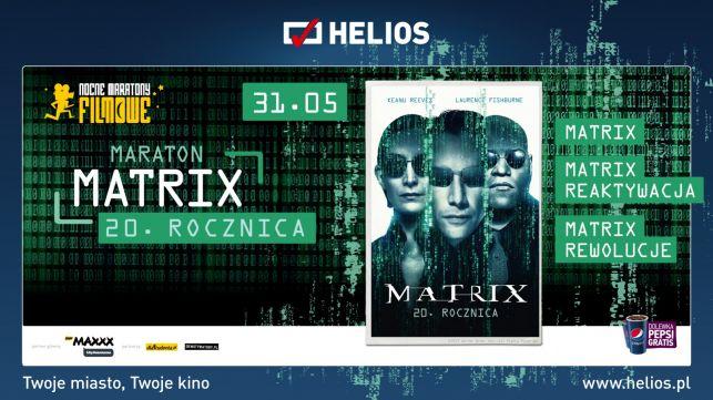 Nocny Maraton Filmowy - 3 filmy MATRIX - Zdjęcie główne