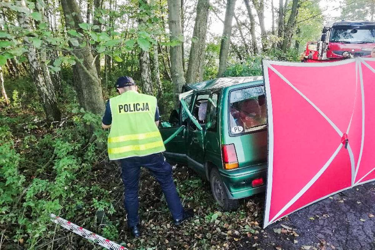 Kolejna śmierć na drodze. Policjanci wyjaśnią przyczyny tragicznego wypadku [FOTO] - Zdjęcie główne