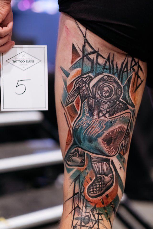 Gorące pokazy i zachwycające dzieła mistrzów tatuażu na Tattoo Days [FOTO]  - Zdjęcie główne