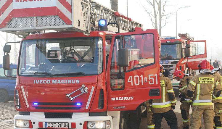 Drzewo runęło na samochody w Szczercowie. Straty to nawet kilkadziesiąt tysięcy złotych - Zdjęcie główne