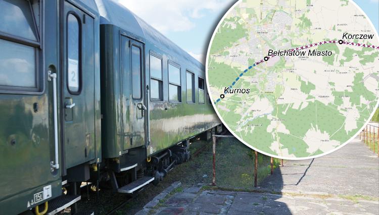 Gdzie zatrzyma się pociąg nowej linii kolejowej? Na trasie m.in. Kurnos, Bełchatów i Korczew... - Zdjęcie główne