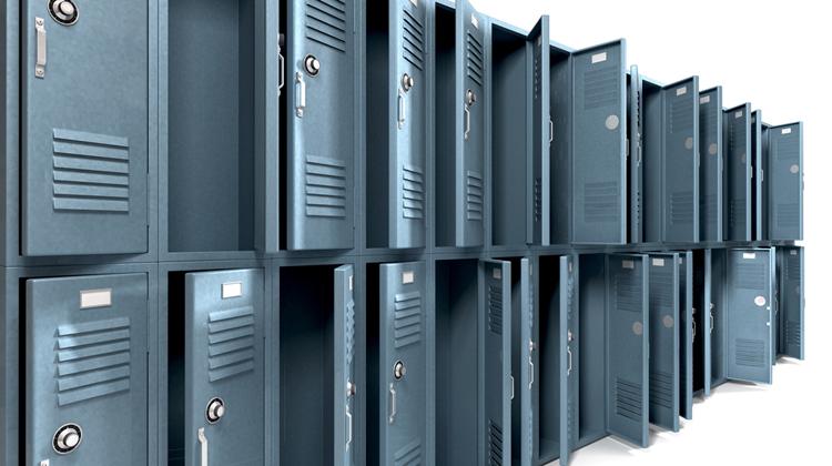 Wyposażenie, dzięki któremu pracownicy mogą przechowywać swoje prywatne rzeczy na stanowisku pracy - Zdjęcie główne