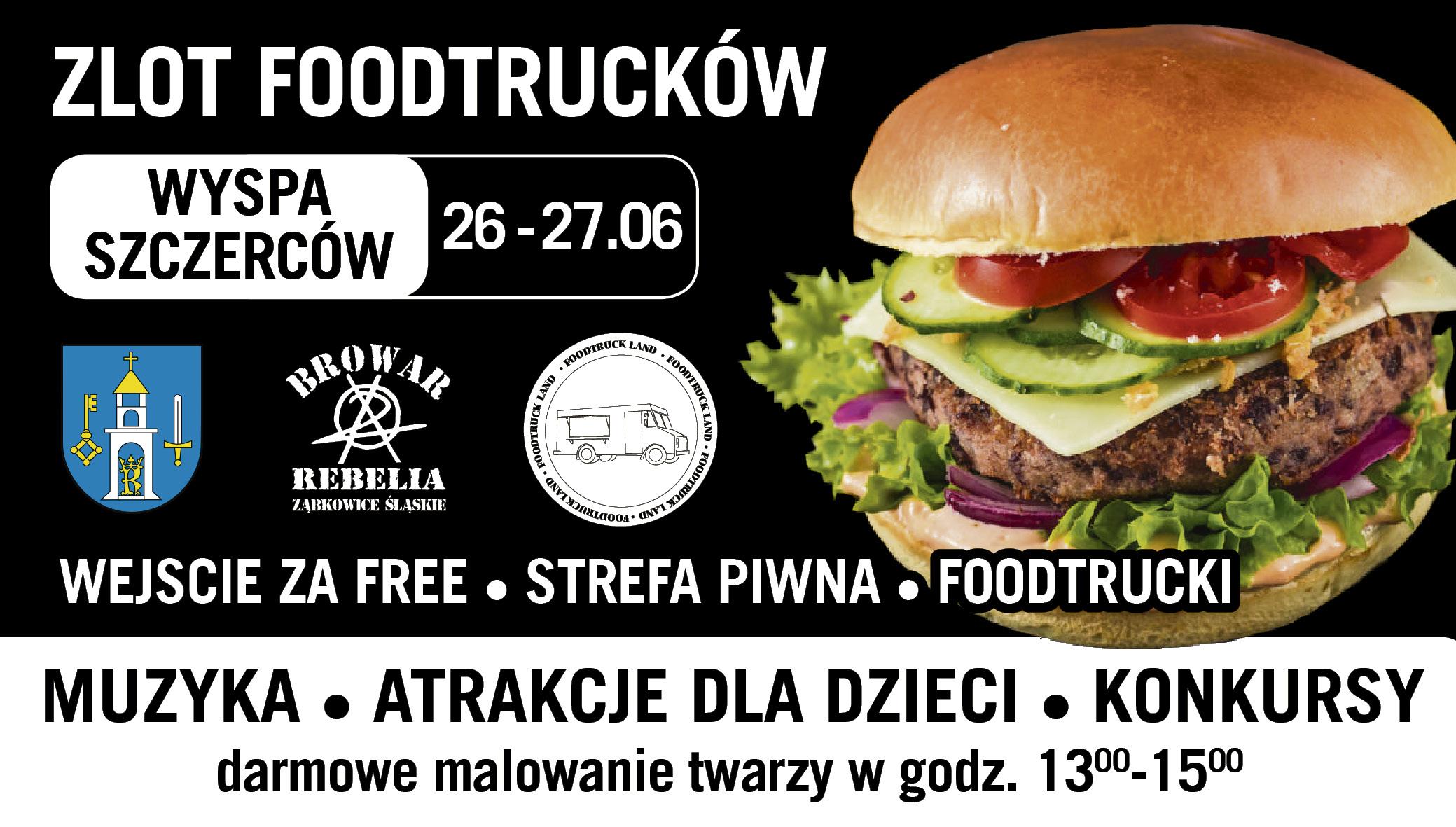 Zlot Food Trucków w Szczercowie! Pyszne jedzenie oraz wiele atrakcji dla każdego! - Zdjęcie główne