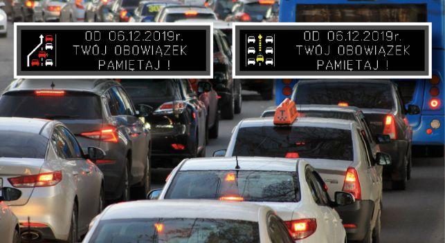 Uwaga kierowcy! Od jutra wchodzą w życie nowe przepisy. Sygnalizacja na drogach, będzie o nich przypominać - Zdjęcie główne