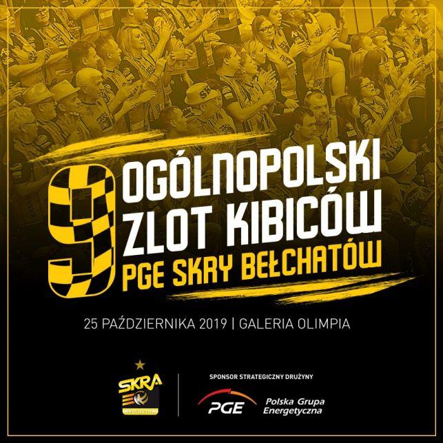 Już w ten piątek Ogólnopolski Zlot Kibiców PGE Skry Bełchatów! - Zdjęcie główne