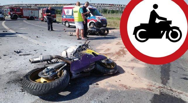 Obwodnica Kleszczowa zamknięta dla motocyklistów. Urzędnicy chcą uniknąć kolejnej śmiertelnej serii  - Zdjęcie główne