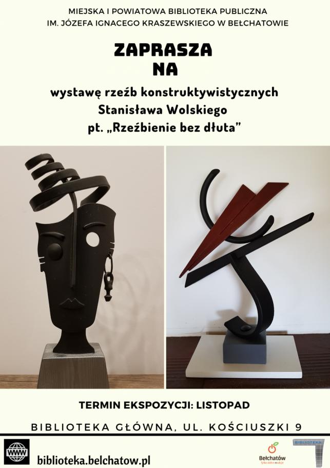 """Wystawa Stanisława Wolskiego pt. """"Rzeźbienie bez dłuta"""" - Zdjęcie główne"""