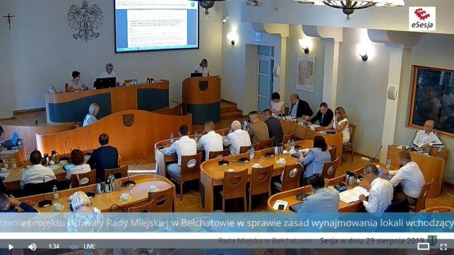 Trwa XIII Sesja Rady Miejskiej. Oglądaj transmisję na żywo - Zdjęcie główne