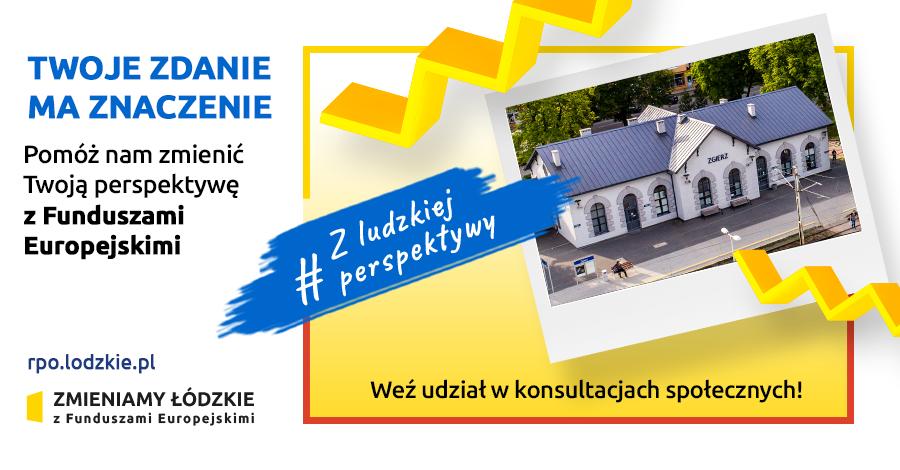 Trwają konsultacje społeczne najważniejszego projektu  w Łódzkiem - Zdjęcie główne