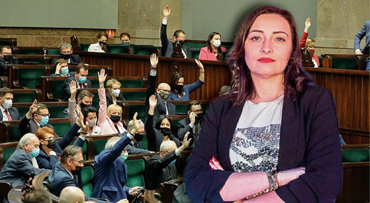 Poseł Janowska zagłosowała wbrew rządowi. Jakie czekają ją konsekwencje ze strony PiS? - Zdjęcie główne