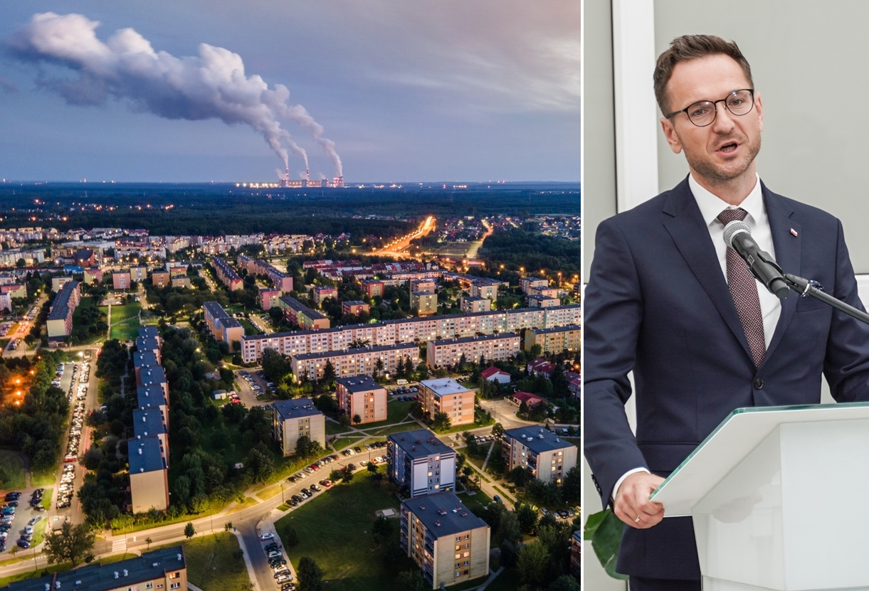 Co z przyszłością Bełchatowa po elektrowni? Zapytaliśmy ministra o pieniądze z funduszu - Zdjęcie główne