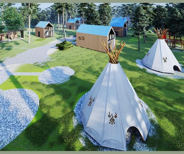 Pokazali, jak będzie wyglądał nowy ośrodek wypoczynkowy koło Bełchatowa. Kiedy przyjmie turystów? - Zdjęcie główne