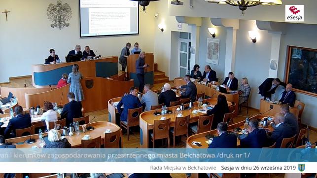 XIV Sesja Rady Miejskiej - Zdjęcie główne