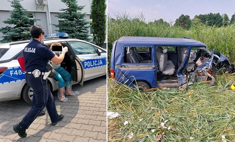 Tragiczne wieści po wypadku busa, jedna osoba nie żyje. Kobieta miała 4 promile, grozi jej więzienie - Zdjęcie główne