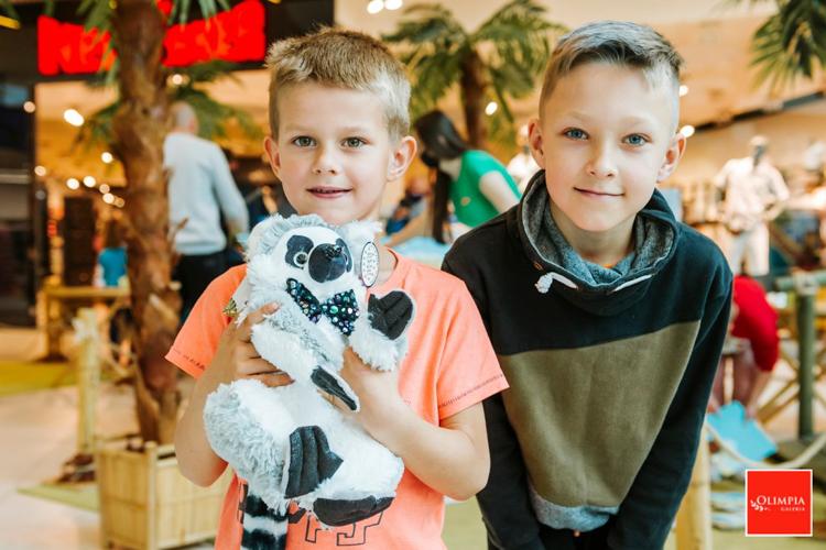 Dzień Dziecka w galerii Olimpia. Wyprawa tropem lemurów i klimaty Madagaskaru zachwyciły najmłodszych [FOTO] - Zdjęcie główne