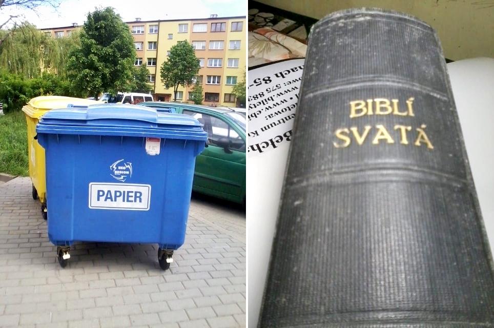 Niezwykłe znalezisko ze śmietnika trafiło do biskupa. Jak zakończyła się cała historia? - Zdjęcie główne