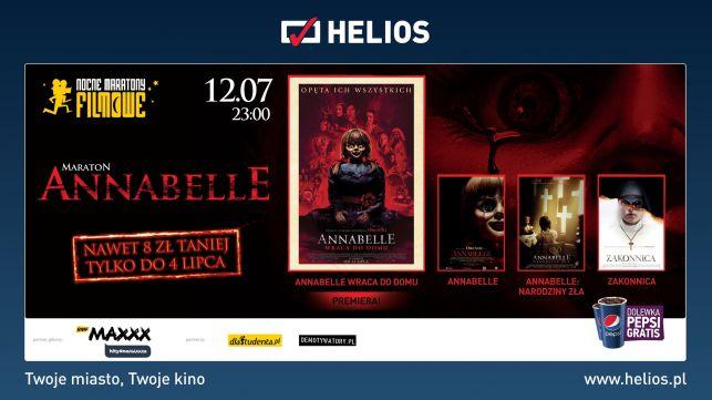 Nocny Maraton Horrorów w HELIOS Bełchaów - Zdjęcie główne