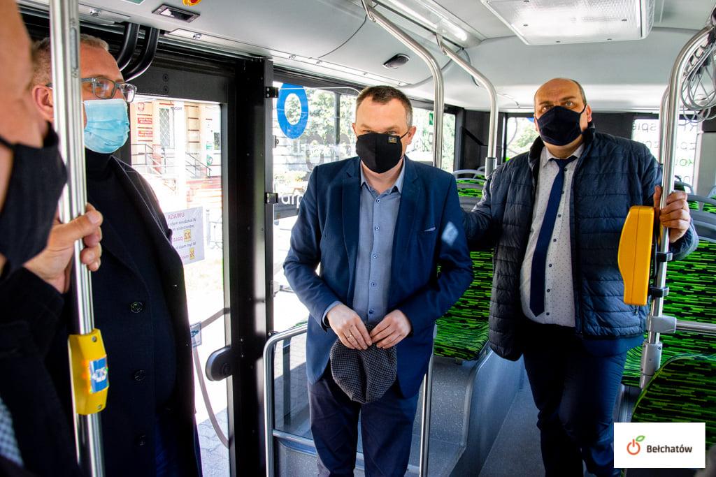 Nowe elektryczne ''emzetki'' trafią do Bełchatowa? Prezydenci testowali autobus [FOTO] - Zdjęcie główne