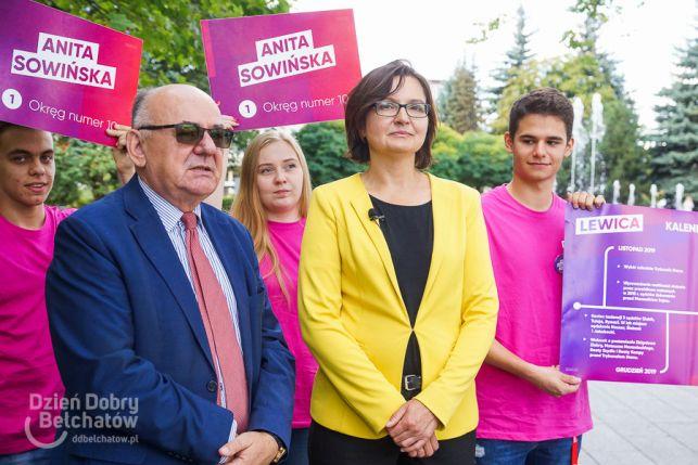 Kto łamie praworządność i czy ktoś chce zamknąć kopalnię? Konferencja Lewicy w Bełchatowie - Zdjęcie główne