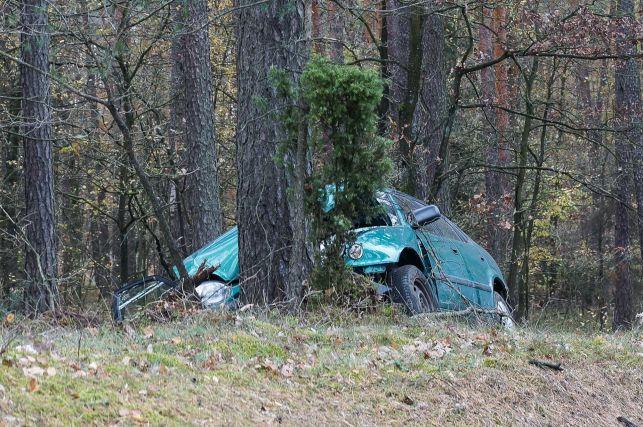 Uwaga kierowcy! Wypadek pod Klukami. Występują utrudnienia [FOTO] - Zdjęcie główne
