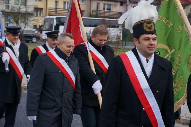 Barbórka 2019. Górnicy przemaszerowali ulicami Bełchatowa [FOTO] - Zdjęcie główne