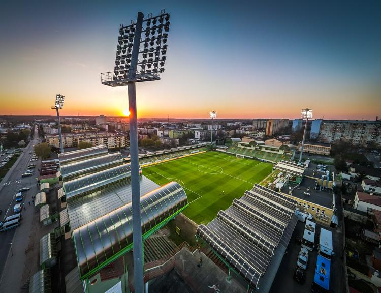 FORTUNA 1 Liga: GKS Bełchatów dostał lekcję futbolu od finalisty Pucharu Polski - Zdjęcie główne