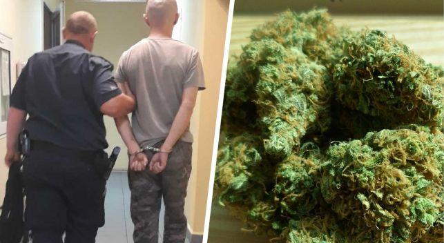 Bełchatowianin wpadł z narkotykami w parku - Zdjęcie główne
