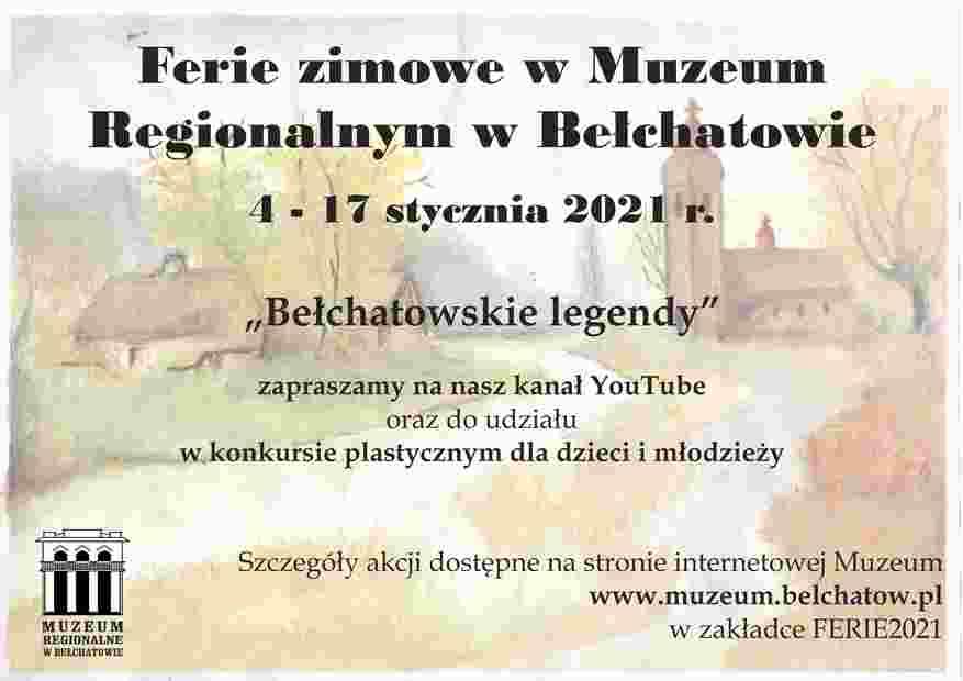 Bełchatowskie Legendy online i konkurs plastyczny - Muzeum Regionalne w Bełchatowie - Zdjęcie główne