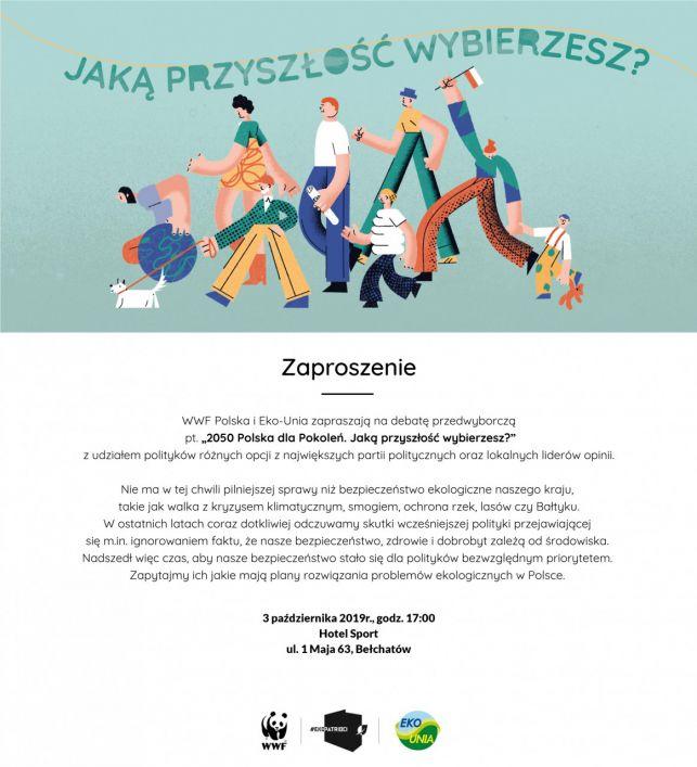Bełchatów na ogólnopolskiej trasie debat. Komu mieszkańcy będą mogli zadać pytanie? - Zdjęcie główne
