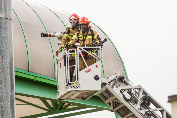 MCS zabiera głos w sprawie pożaru na stadionie GKS-u. Jaka była przyczyna wybuchu ognia?  - Zdjęcie główne