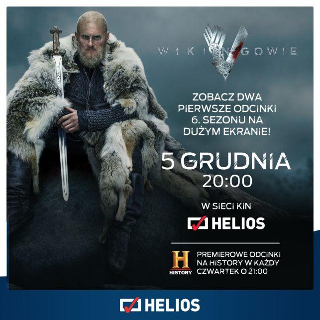"""""""Wikingowie"""" ponownie podbiją ekrany kin Helios! - Zdjęcie główne"""